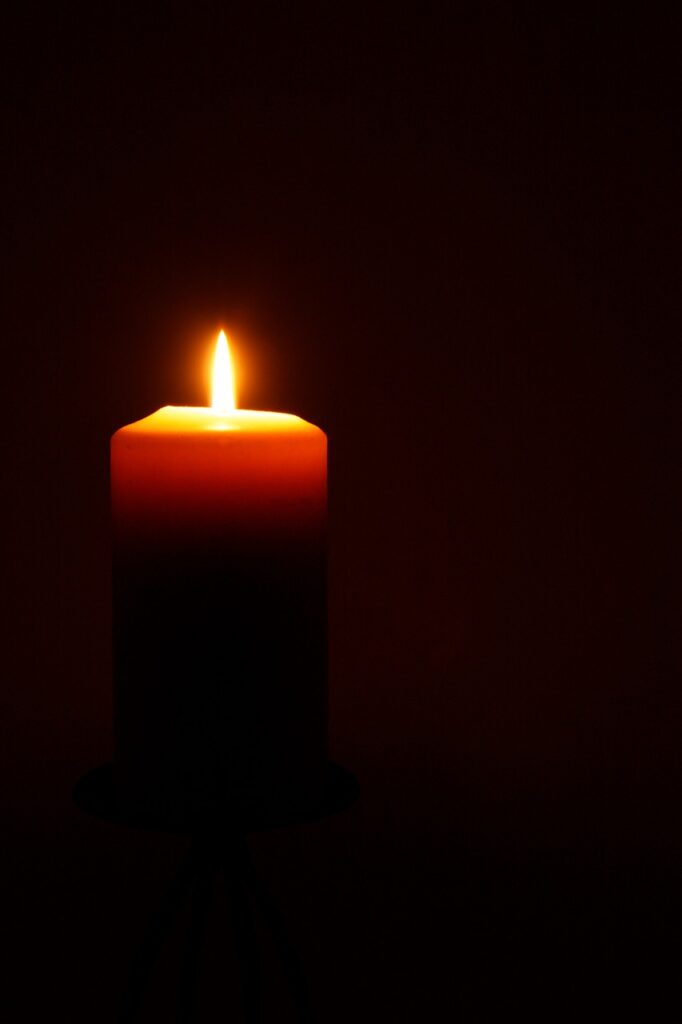 candle, flame, fire